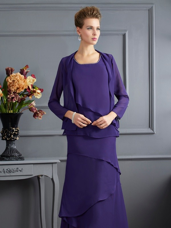 Chiffon Long Sleeves Special Occasion Wrap