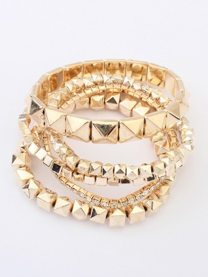 Occident Exotic Three-dimensional Small blocks Hot Sale Bracelets