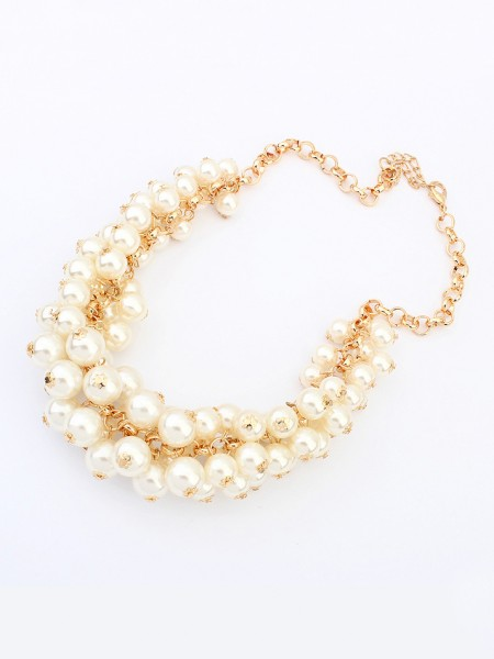 Occident Retro Palace Imitation pearls Hot Sale Necklace