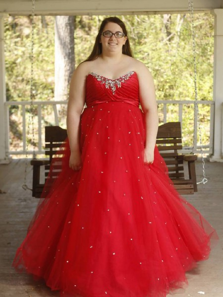 Ball Gown Sweetheart Organza Sleeveless Beading Floor-Length Plus Size Dresses